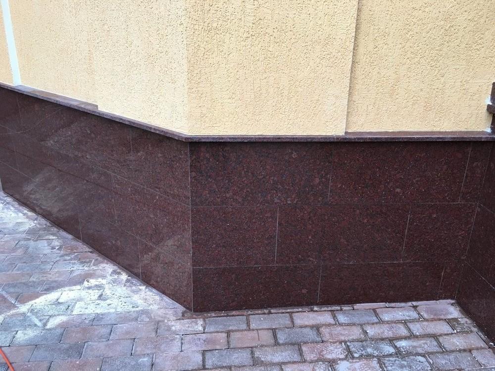 керамогранит для цоколя под камень фото этих стенах